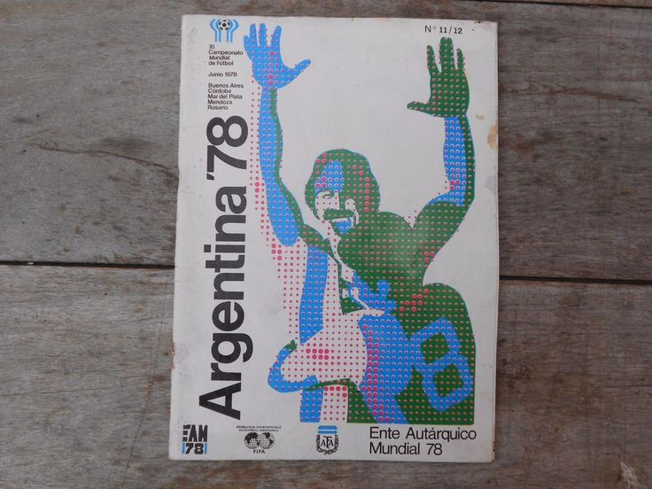 ARGENTINA 78 FIFA WORLD CUP Official ORGANIZING COMMITTEE publication #11/12  | eBay
