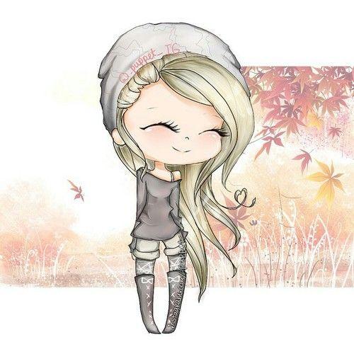 Cute chibi girl | We Heart It