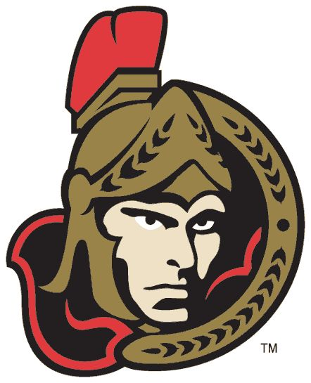 The alternate logo the Sens introduced in late 1997, when their red third jersey was introduced. I was in Ottawa at the time when this happened!