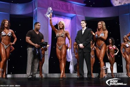 Nicole Wilkins-Lee at the 2011 Arnold Classic, Ms. International, Fitness International & Figure International.