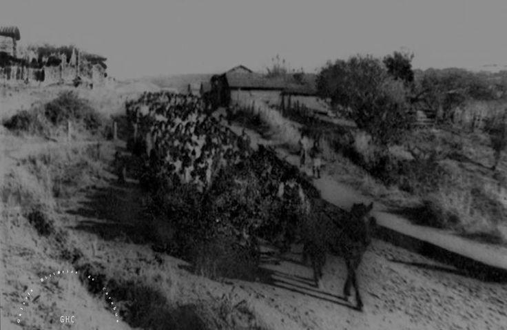 Galería Histórica de Carahue. Sociedad y Época:  Servicio Funerario de José Damián Ulloa Aguayo. Calle Cementerio, 1979.-   #ghc #carahue #memoria #patrimoniofotografico