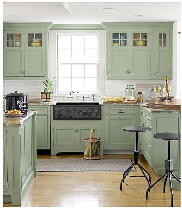 Decorar Colores Claros Agradables Y Decorativos Interiores Coloridos Esmihobby Muebles De Cocina Color Cocinas Casa De Campo Diseno Muebles De Cocina