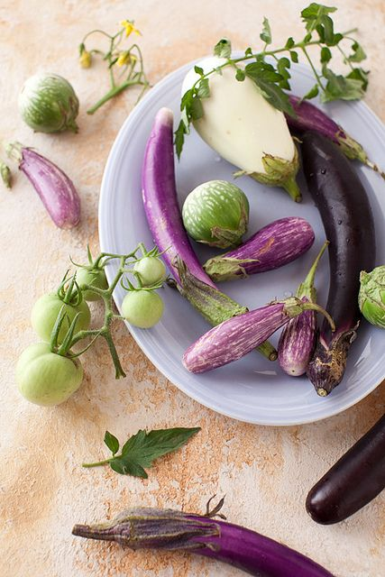 Love all of these beautiful eggplant varieties!