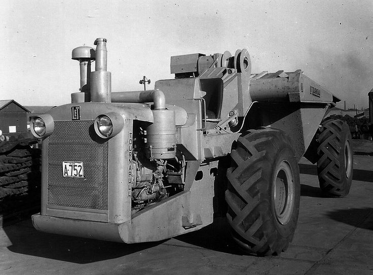 Classic machines birth of the articulated dump truck