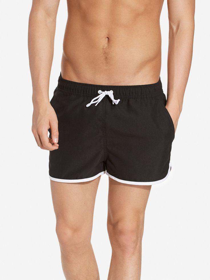 NLYMAN.COM: Edge Swim Shorts - NLY MAN - mann - Svart. Nyheter hver dag. Over 800 varemerker. Uendelig variasjon.