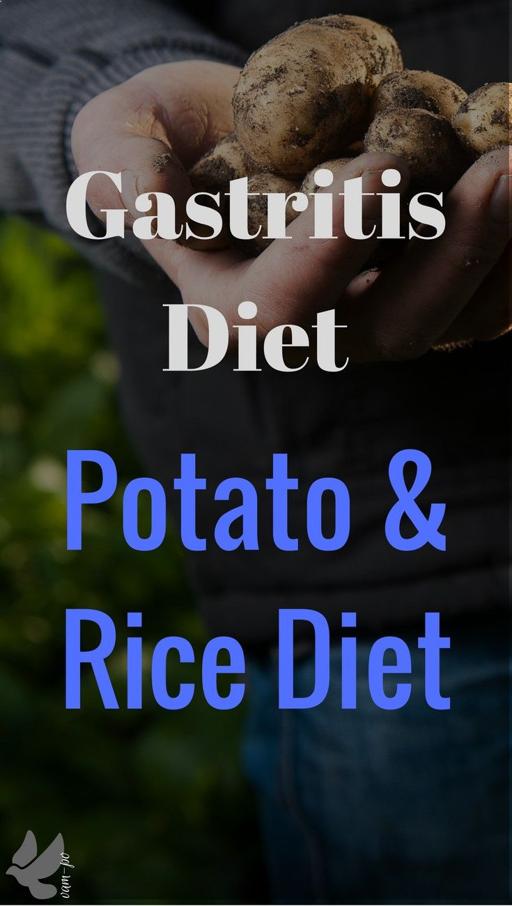 Best for acute phases of gastrointestinal diseases or as a first step medical elimination approach regarding immune responses and intolerances - Gastritis Diet
