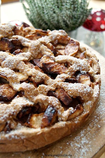mellimille: Holländischer Apfelkuchen