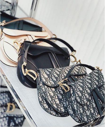 4949adb0ba Dior Saddle Bags | Bags in 2019 | Dior saddle bag, Bags, Dior