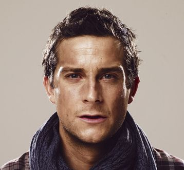 Why is Bear Grylls awesome? For one, he's easy on the eyes, and secondly, I bet camping trips with him would be amazing. (Still not drinking my own pee though!)