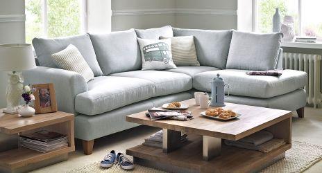 Wrap Fabric Corner Sofa