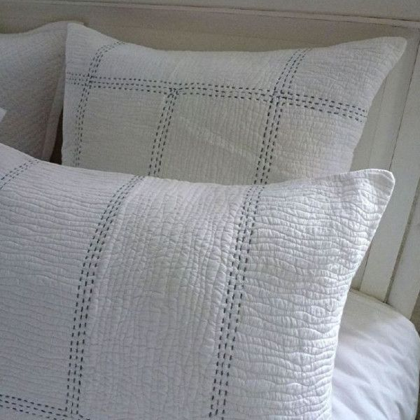 Ocean Bedspread For the perfectly made bed #bedroom#hamptonsstyle#gaudionfurniture