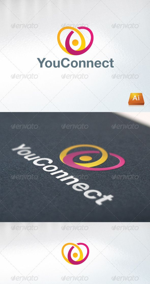 You Connect   #GraphicRiver         - Excellent logo,simple and unique. - .ai and .eps format. - Font used : Helvetica Neue Family   PLEASE RATE IT AFTER YOU HAVE PURCHASED IT !      Created: 27October11 GraphicsFilesIncluded: VectorEPS #AIIllustrator Layered: No MinimumAdobeCSVersion: CS Resolution: Resizable Tags: bold #business #company #connect #internet #logo #modern #network #professional #social #unique #you