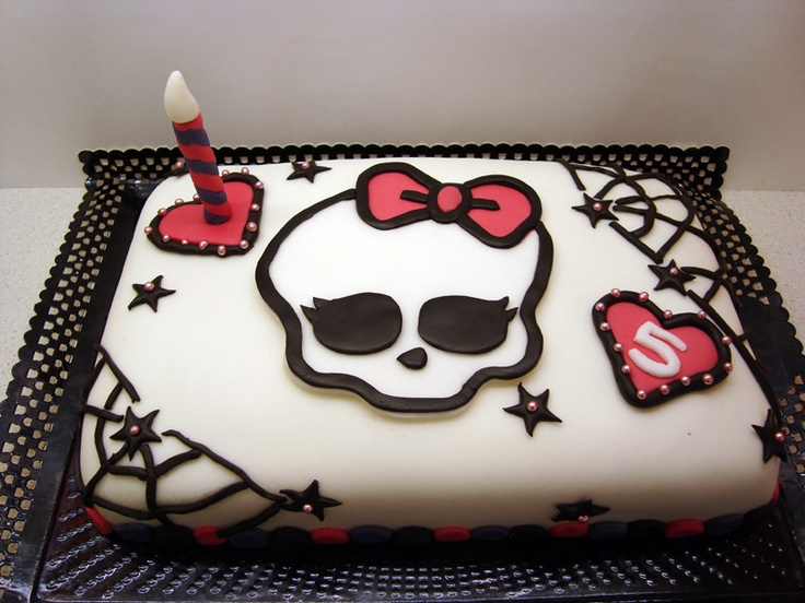 Monster's hight cake www.facebook.com/aprilscake