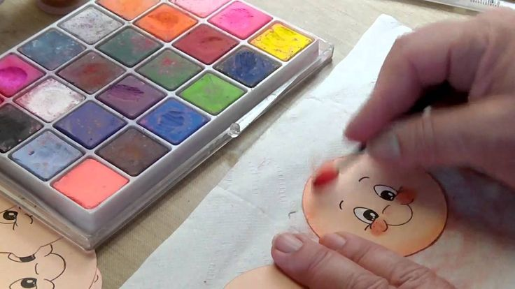 Peachy Keen Face Painting Tutorial
