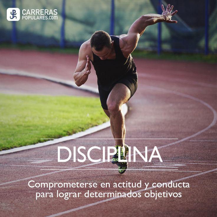DISCIPLADO: Comprometerse en actitud y conducta a lograr determinados objetivos.