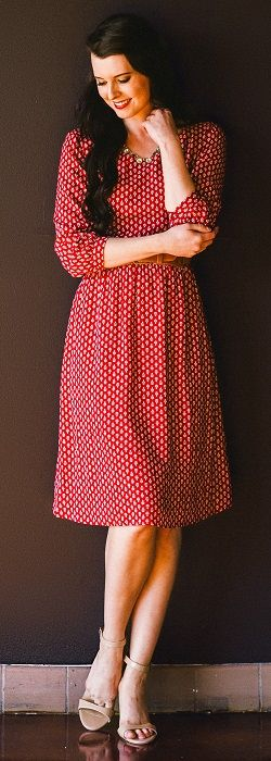 Teryn Dress [MDS6102] - $54.99 : Mikarose Boutique, Reinventing Modesty