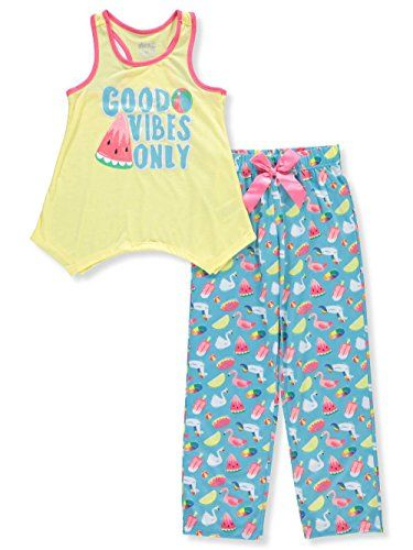 386cad2497 Sleep On It Girls' 2-Piece Pajamas | Fashion Home Articles | Pajamas ...