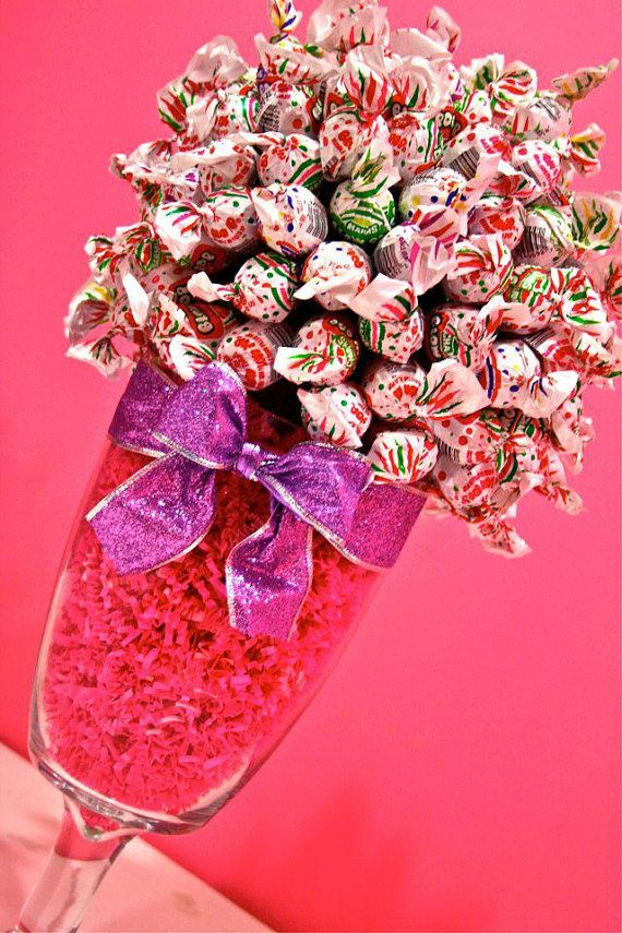 Blow Pop Lollipop Sucker Candy Land Centerpiece Vase, Candy Buffet Decor, Candy Arrangement Wedding, Mitzvah, Party Favor, Candy Creation on Etsy, $44.99