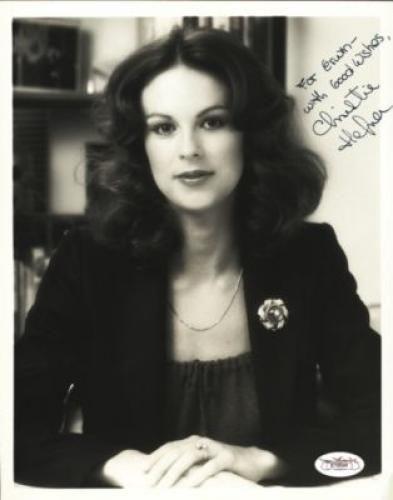 Christie Hefner | Christie Hefner Hand Signed Bw 8x10~autographed~jsa Coa | Official