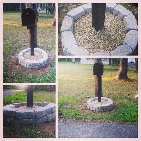 17 Best Images About Landscaping Around Mailboxes On