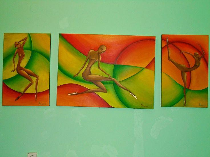 PrisecariuGeaninaArt: Dancer 60x40 60x80 60x40 oil on canvas