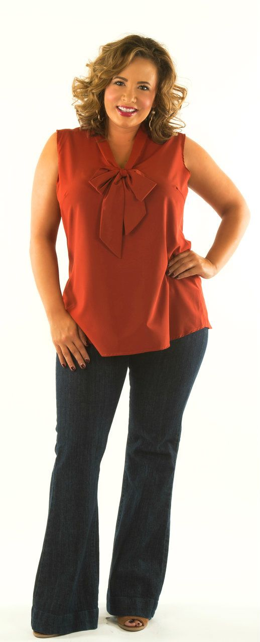 Devoted To You Top - Rust - Perfectly Priscilla Boutique