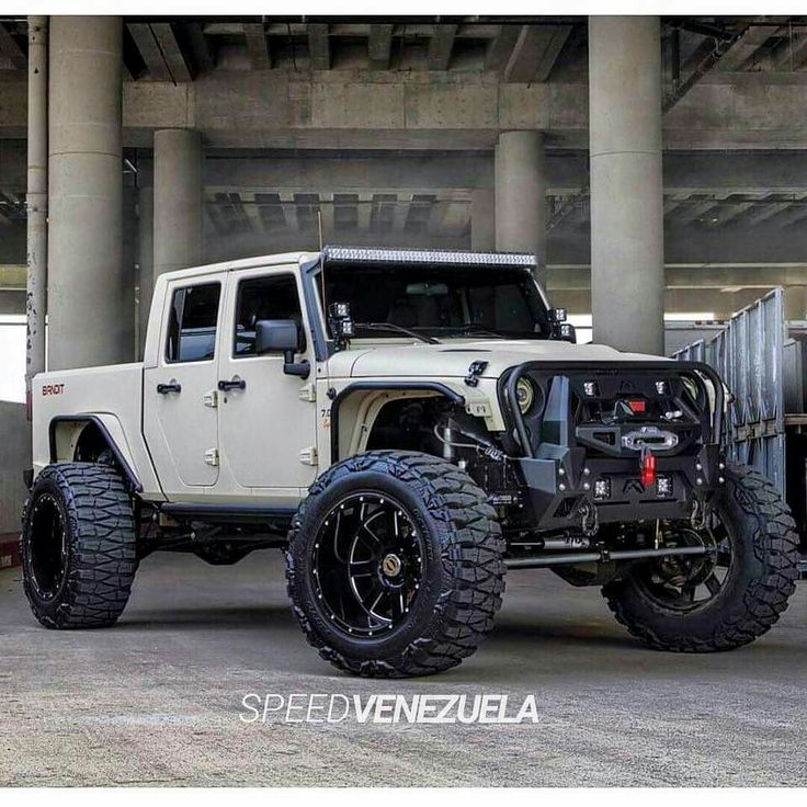 Jeep Brute: 4 dr JK truck
