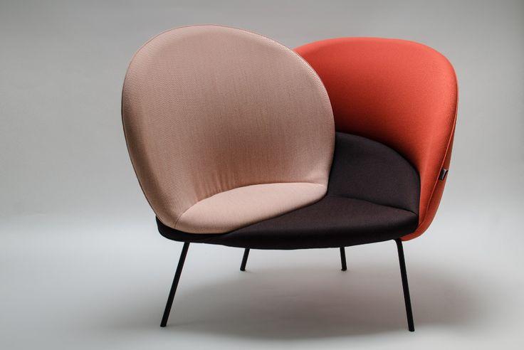 Le Séduisant, fauteuil imaginée par Alice Vincent jeune étudiante en Design à l'École Bleue Paris, création découverte lors de la dernière Paris Design Week