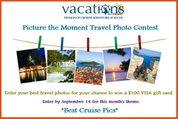 Only 3 days left to enter and vote! Show us your best cruise pics and you could win a $100 VISA gift card. You can enter once a day. Click to enter and vote. Good luck! #contest #cruise