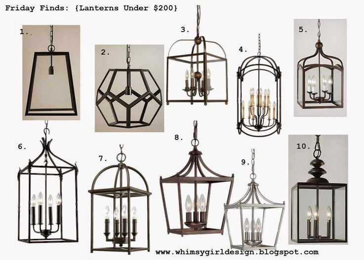 whimsy girl: Friday Finds: {Lanterns Under $200}