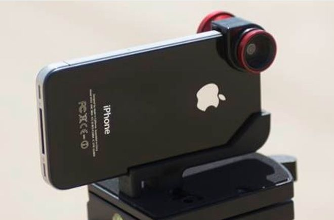 Olloclip is an affordable pocket sized, 3 way iPhone Lens Adapter. The aluminum kit consists of an adapter which clips over the top corner of the iPhone with a fisheye lens adapter on ones side and a macro lens on the other. In addition is a small extra wide-angle adapter which clips on top of the macro lens. #Photography #Ollo #iPhone_Lens_Adapter