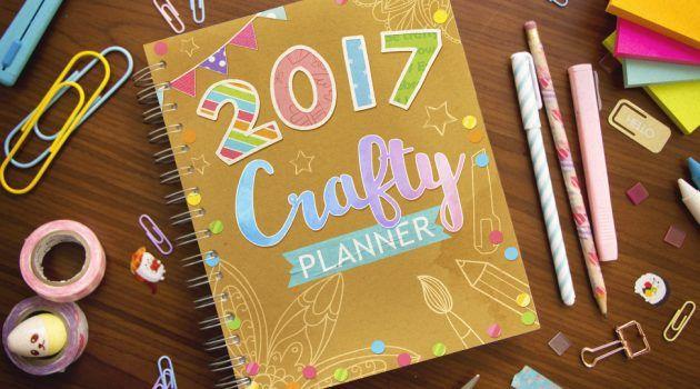 Un año después nació la Crafty Planner 2016, una agenda creada junto contigo durante la Semana Crafty.