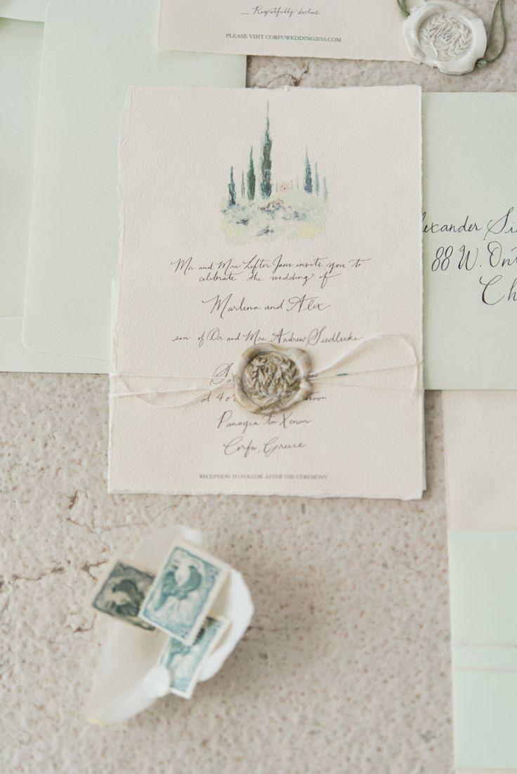 Wedding Venue: Cavo Alkyoni - http://www.stylemepretty.com/portfolio/cavo-alkyoni Stationery: Atelier Invitations - http://www.stylemepretty.com/portfolio/atelier-invitations Event Planning: Corfu wedding planner - http://www.stylemepretty.com/portfolio/corfu-wedding-planner   Read More on SMP: http://www.stylemepretty.com/destination-weddings/2017/04/28/romantic-destination-greek-island-wedding/