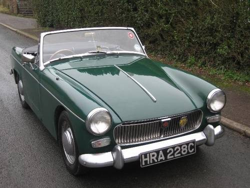 MG Midget (1965) Maintenance/restoration of old/vintage vehicles: the material for new cogs/casters/gears/pads could be cast polyamide which I (Cast polyamide) can produce. My contact: tatjana.alic14@gmail.com