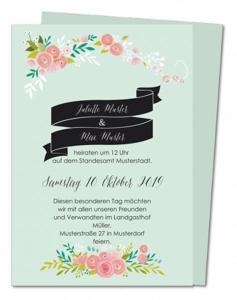 Hochzeitseinladungen: neue Karten │ Planet-cards.de