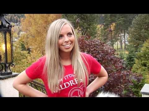 Farmen 2012 - Cecilie Holm snakker om Valdres