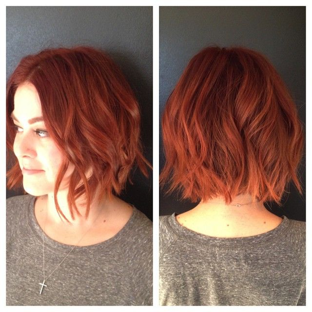 Pin By Lynne Ann Lane On Messy Bob Short Red Hair Copper Hair Hair