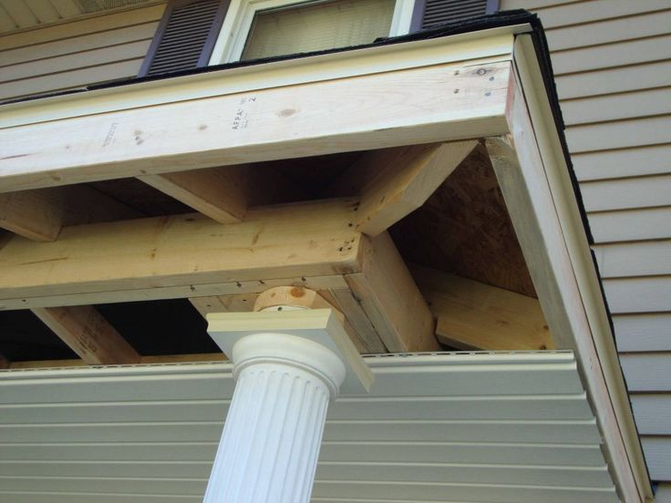 Project Spotlight Adding A Front Porch Roof For Safety