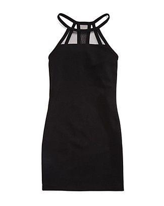 Sally Miller Girls' Cutaway Illusion Dress - Sizes S-XL