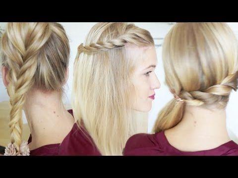 3 coiffures express pour les matins pressés | Histoires Du Net