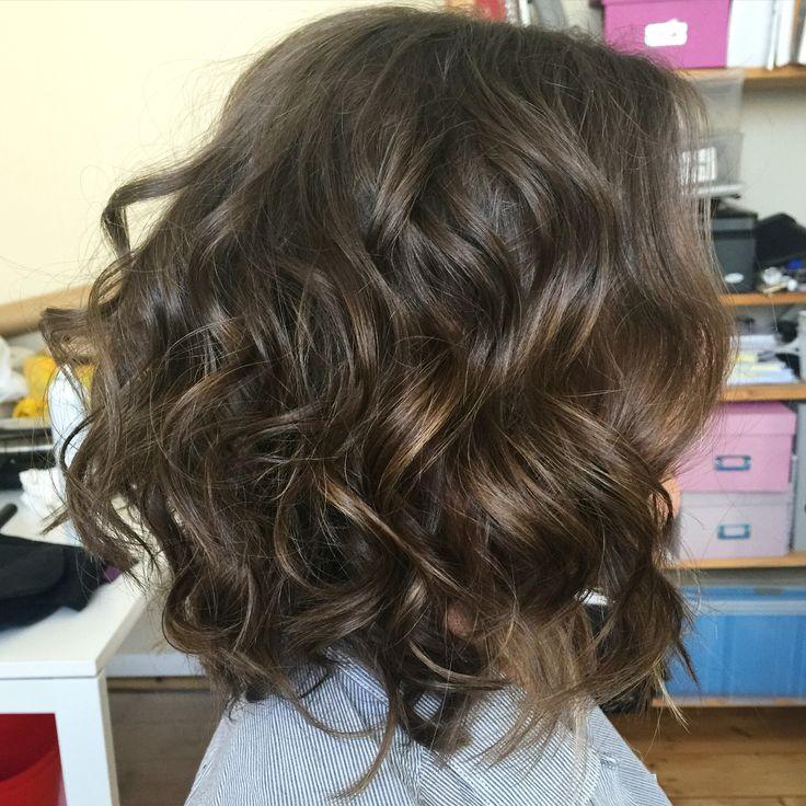 Soft textured waves. Hair by www.zoekarlismakeup.com.au