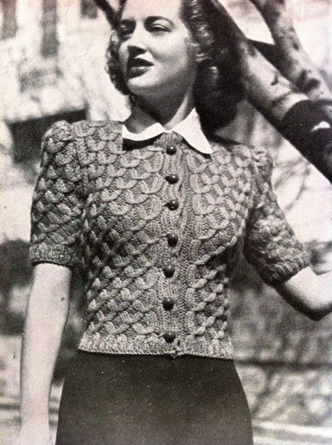 Big Band Baby 40s Glamour Quick Knit by VanessaLovesVintage, $1.99