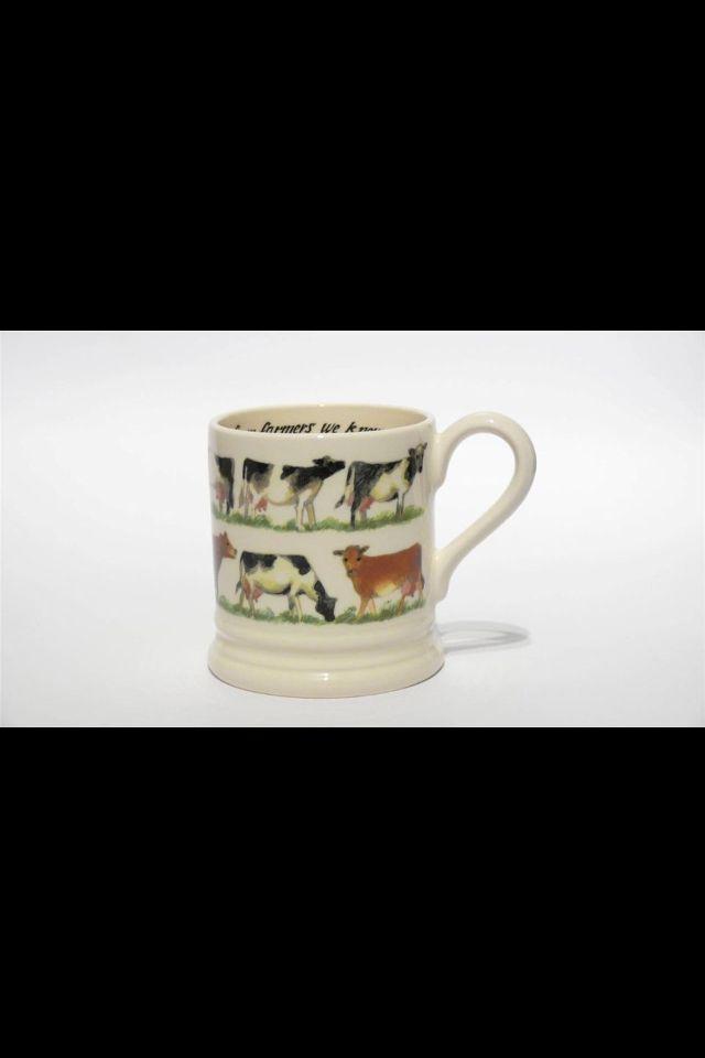 Waitrose cow emma bridgewater mug brought at a bargain price in the Emma bridgewater sale