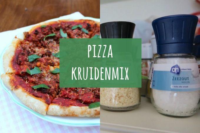 Vandaag laten we jullie zien hoe je een hele lekkere pizza kruidenmix kunt maken. De kruidenmix kun je over je pizza strooien om hem op smaak te brengen. Ook lekker op een pizzabroodjes, over tomatens
