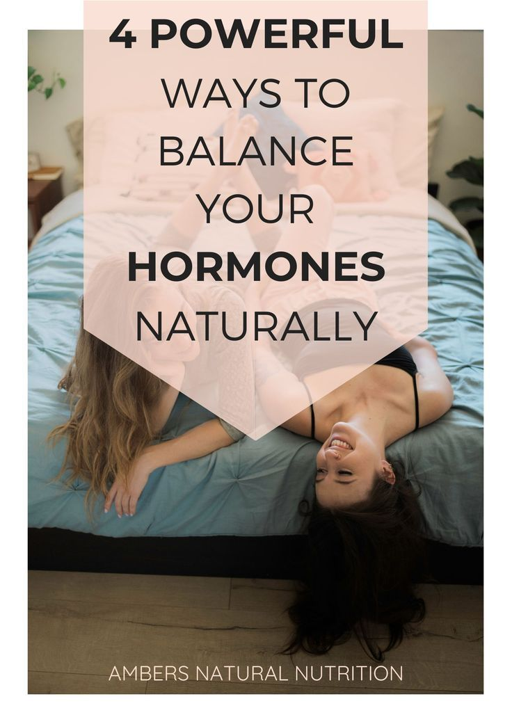 Learn how to balance your hormones naturally with this 4