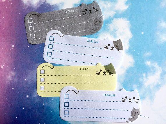 To do list sticky note cat sticky note cat by StickersKingdom