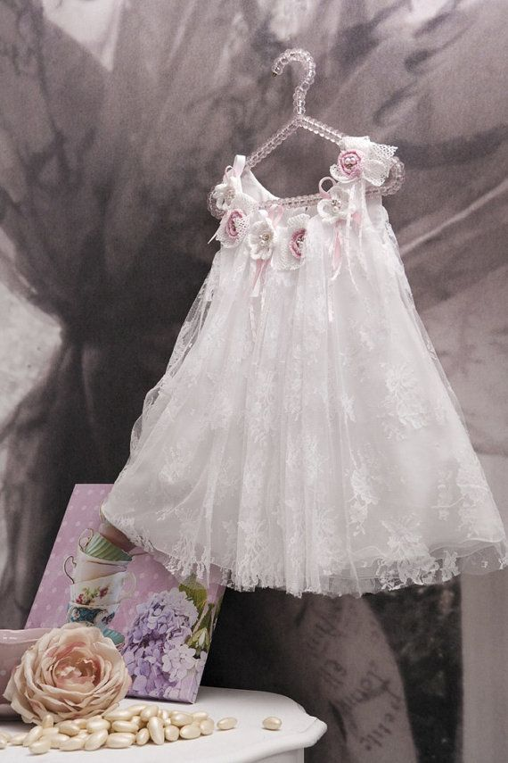 Vintage Christening  Gown  Christening  by StyledByAlexandros