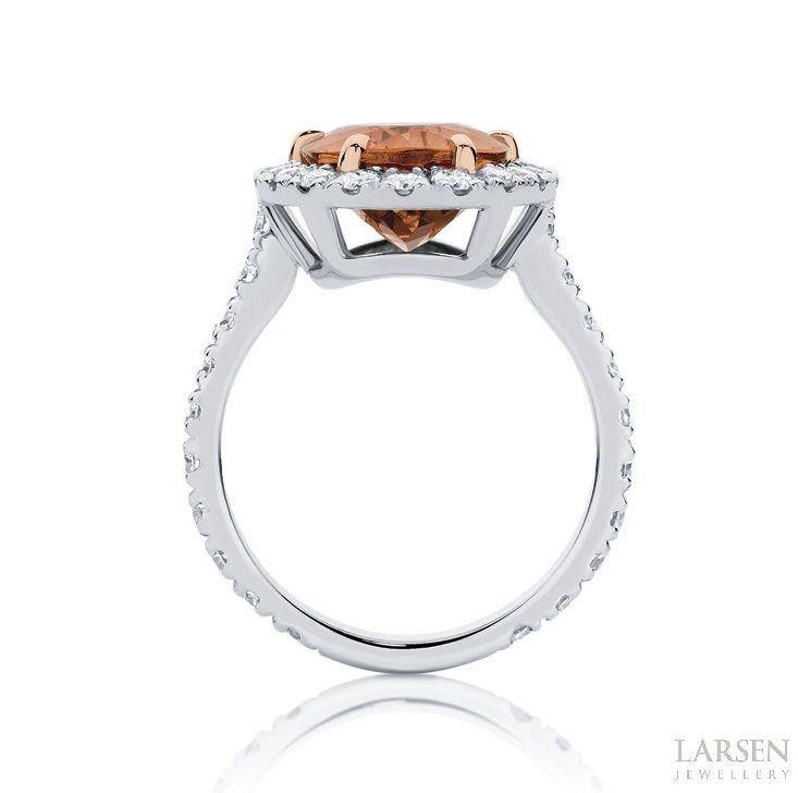Engagement rings that are beautiful from every angle... www.larsenjewellery.com.au #larsenjewellery #rings #engagementrings #weddingrings
