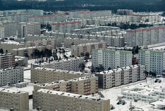Abandoned city of Pripyat, near Chernobyl, Ukraine