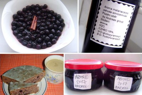 Aronie, černá jeřabina v receptech: Kompoty, džem, perník i domácí likér z aronie